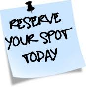 Deposit – Reserve your spot today!
